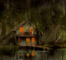 Cabin - De Land, FL - Restless night 1904 Sticker