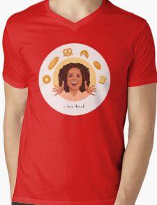 Oprah: I Love Bread Mens V-Neck T-Shirt