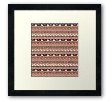 Tribal Safari Framed Print