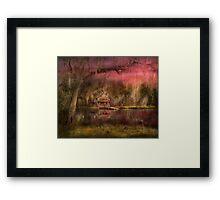 Cabin - De Land, FL - Summer Cottage 1904 Framed Print