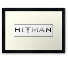 Hitman Framed Print