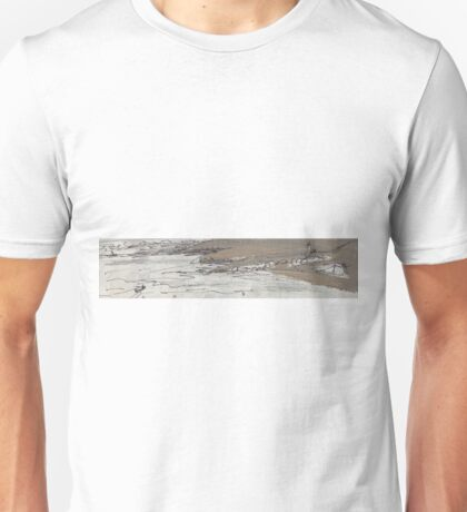 BOAT IN THE DARK(SKETCH-SMALL) (C2016) Unisex T-Shirt