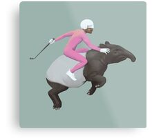Turbo Tapir Metal Print