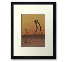 Gond The Giants They Came And Went Framed Print