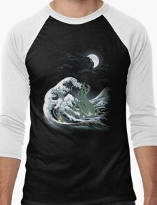 The Wave Off  R'lyeh  Men's Baseball ¾ T-Shirt