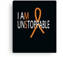 I Am Unstoppable Canvas Print