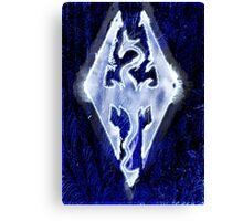 Dragonborn of Winter Legacy  Canvas Print