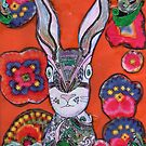 Psychedelic Bunny ! by RobynLee