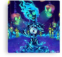 Casket of Spooks Canvas Print