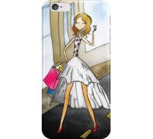 Shopping Girl I know iPhone Case/Skin