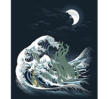 The Wave Off  R'lyeh  Photographic Print