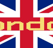 City of London Flag - UK Union Jack Sticker T-Shirt Sticker