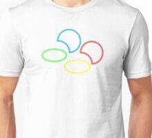 SNES Logo Outline Unisex T-Shirt