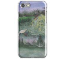 Water Birds in the marsh. iPhone Case/Skin