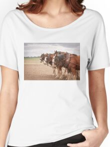 Working Horses Women's Relaxed Fit T-Shirt