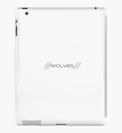wolves -one direction iPad Case/Skin