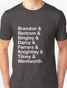 Men of Jane Austen T-Shirt