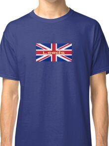 City of Leeds United FC Union Jack UK Flag Sticker T-Shirt Classic T-Shirt