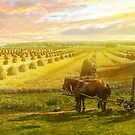 Farm - Finland - Field of hope 1899 by Mike  Savad