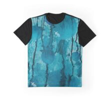 Blue cloudy sphere Graphic T-Shirt