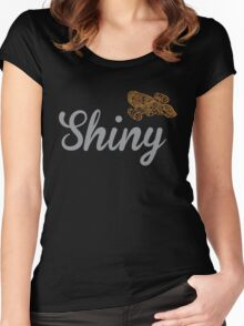 Shiny Serenity Women's Fitted Scoop T-Shirt