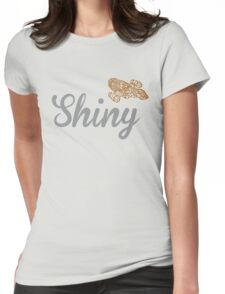 Shiny Serenity Womens Fitted T-Shirt