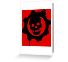 Gears of War Greeting Card