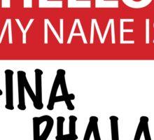 Regina Phalange Sticker Sticker