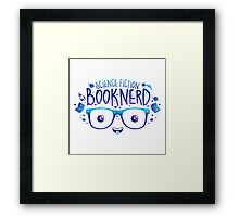 SciFi Booknerd Framed Print