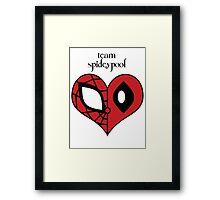 Team Spideypool Framed Print