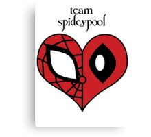 Team Spideypool Canvas Print