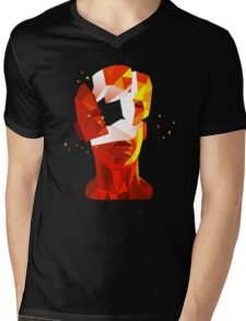 SUPERHOT Mens V-Neck T-Shirt