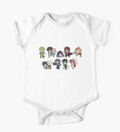 The devil is a part timer chibi One Piece - Short Sleeve