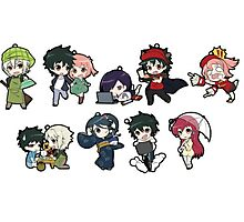 The devil is a part timer chibi Photographic Print