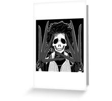 Edward (Stack's Skull Sunday) Greeting Card