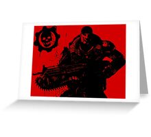 gears of war 4 Greeting Card