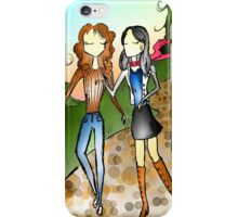 Chatting Girls I Know iPhone Case/Skin