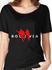 Air Bolivia (dark background) Women's Relaxed Fit T-Shirt