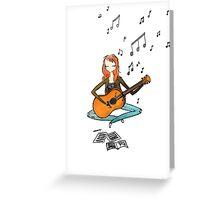 Lyricist Girl I Know Greeting Card
