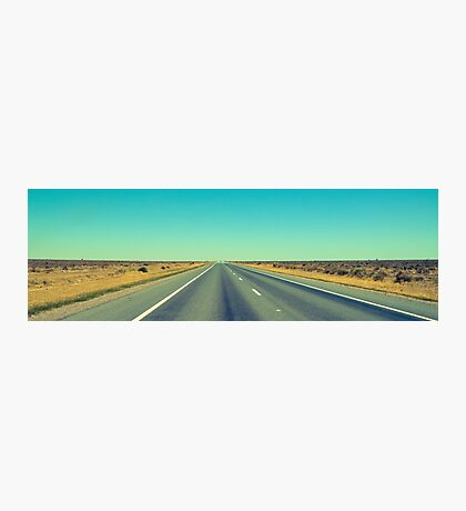 The endless Hay Plains. Photographic Print