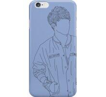 Seventeen - S.Coups line art (Serenity) iPhone Case/Skin