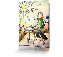 Reading Girl I Know Greeting Card