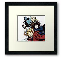 Fullmetal Alchemist Brotherhood Framed Print