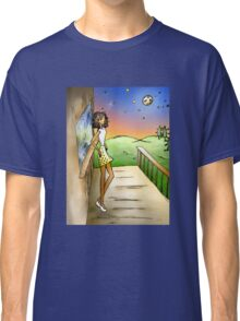 Stargazing Girl I Know Classic T-Shirt