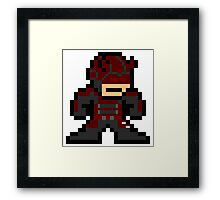 Daredevil 8-bit Framed Print