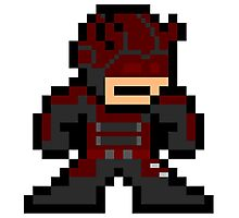 Daredevil 8-bit Photographic Print
