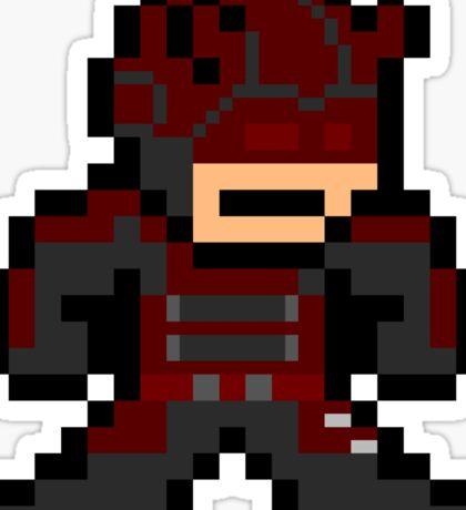 Daredevil 8-bit Sticker