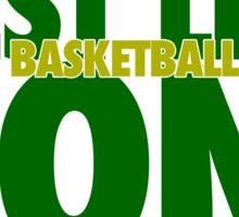 West Linn Lions Basketball Champs Sticker