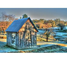 The Little House & the Frost .. HDR Photographic Print