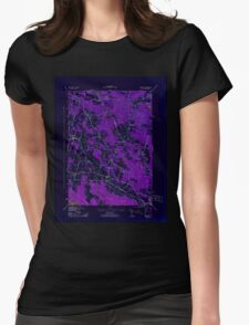 New York NY Mallory 130422 1943 31680 Inverted Womens Fitted T-Shirt